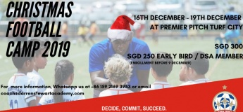 DSA Christmas Football Camp