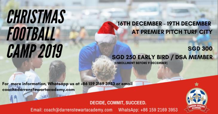DSA Christmas Football Camp