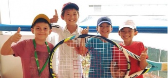 Savitar December Tennis Camps at Raffles City