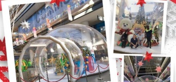 Inflatable Giant Snow Globe @ Our Tampines Hub