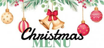 Christmas Menu @ YOUNGS Bar & Restaurant