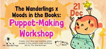 The Wanderlings x Woods in the Books: Puppet-Making Workshop