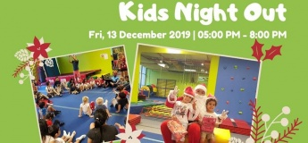 Kids Night Out with Santa @ Power Kids Gym