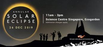 Annular Solar Eclipse @ Science Centre Singapore