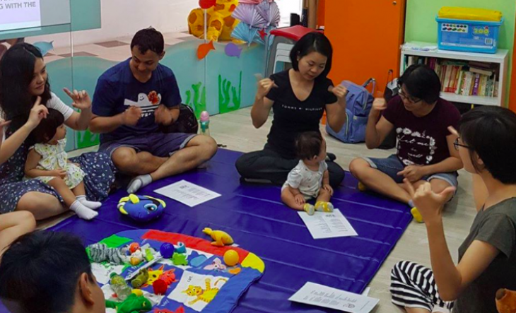 6-weekly baby signs classes Jan 2020
