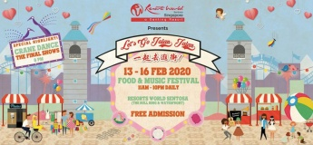 Let's Go Jalan Jalan Food and Music Festival 2020
