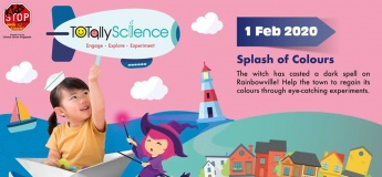 TOTally Science: Splash of Colours