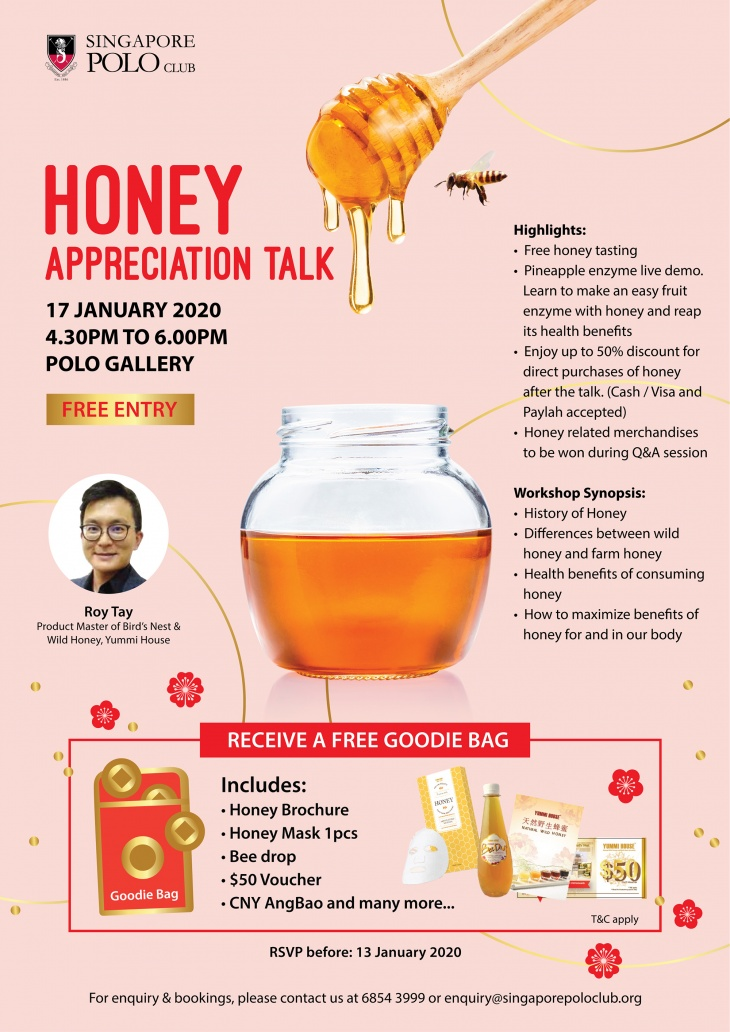 Complimentary Honey Appreciation Talk