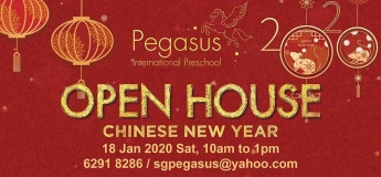 Pegasus International Preschool Open House - Chinese New Year 2020