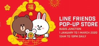 Line Friends CNY Pop-Up Store