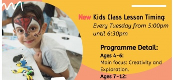 Kids Immersion Art Trial Class - Special Promo @$30 ONLY