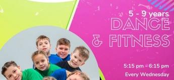 (Suspended till 30 April) Dance & Fitness @ Power Kids Gym