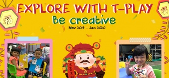 Explore With T-Play: Be Creative