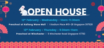 Lorna Whiston Preschool Open House @ Kallang Wave Mall