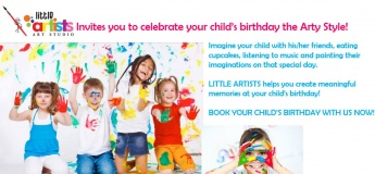 Birthday Parties @ Little Artists