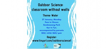 Outdoor Science- classroom without walls