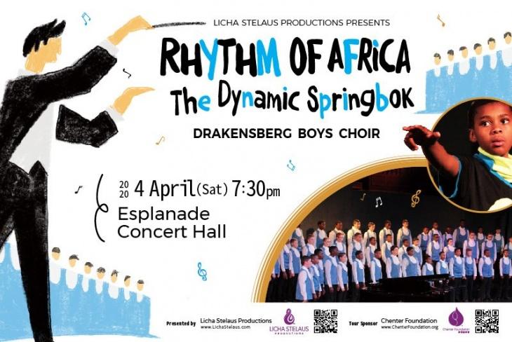 (Cancelled) Rhythm of Africa The Dynamic Springbok