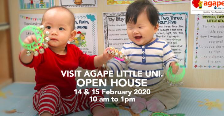 Open House @ Agape Little Uni.