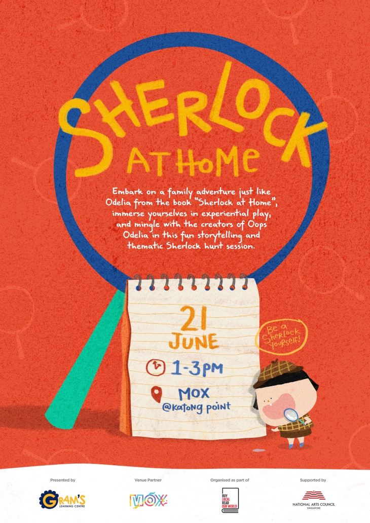 Sherlock at Home (#BuySingLit 2020) - cancelled