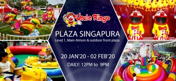 Uncle Ringo is going to Plaza Singapura