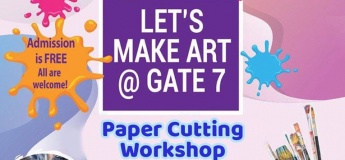 Let's Make Art: Paper Cutting Workshop