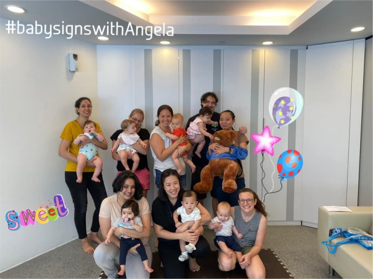 (Suspended till 4 May) Baby signs classes (Saturdays)