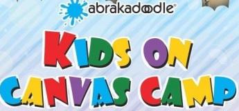 "Abrakadoodle's ""Kids on Canvas"" Camp"