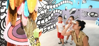 Curator Tour: Art for Families with Kids at Gillman Barracks