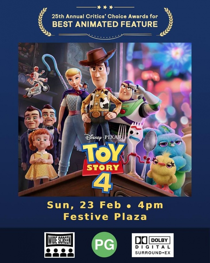 TOY STORY 4 @ Our Tampines Hub