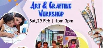 Let's Make Art: Art & Crafting Workshop