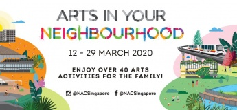 Arts in Your Neighbourhood March 2020