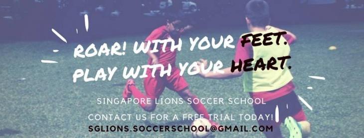 Free Trial Class @ Singapore Lions Soccer School