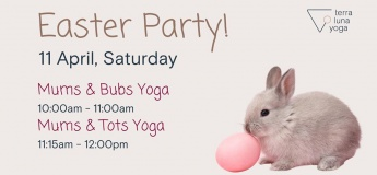 (Cancelled) Easter Party @ Terra Luna Yoga