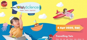TOTally Science: Travelling Tots (2 – 3 years old)