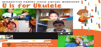 Virtual Parent-child Workshop - U is for Ukulele by Papa Very