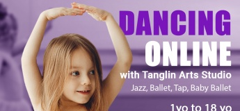Dancing online with Tanglin Arts Studio