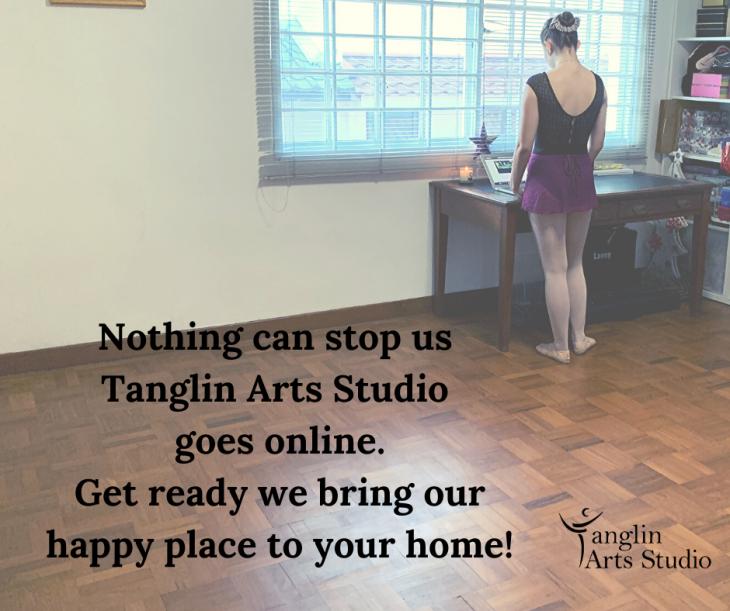 Dancing online with Tanglin Arts Studio