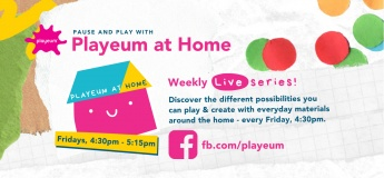 Playeum at Home LIVE Weekly Series