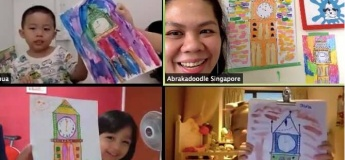 LIVE Online Art Classes with Abrakadoodle