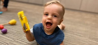 Interactive LIVESTREAM Baby Music class (0-18 months)