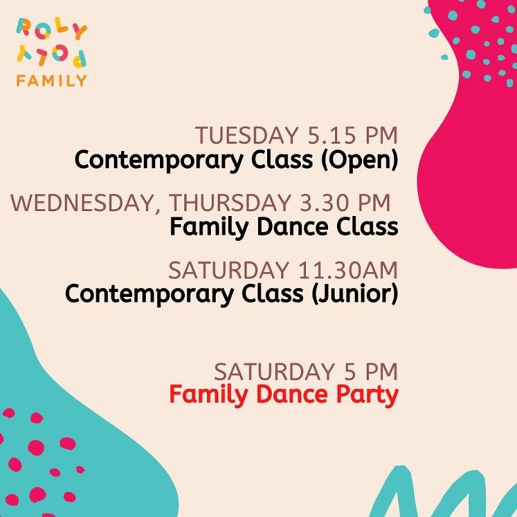 Stay Home Online Dance with Rolypoly Family Dance