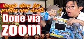 Zoom Magic Show // Online Magician
