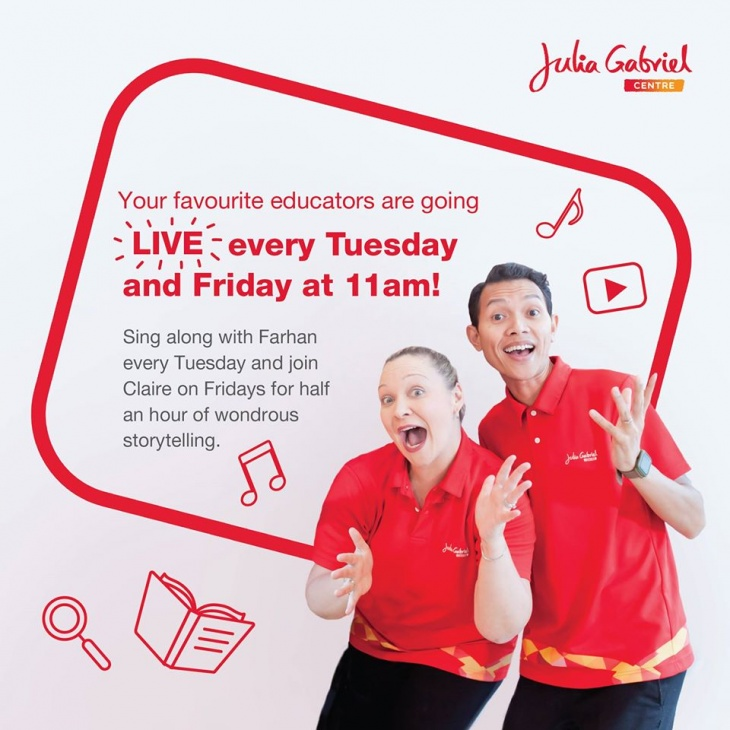 Live Classes with Julia Gabriel Centre