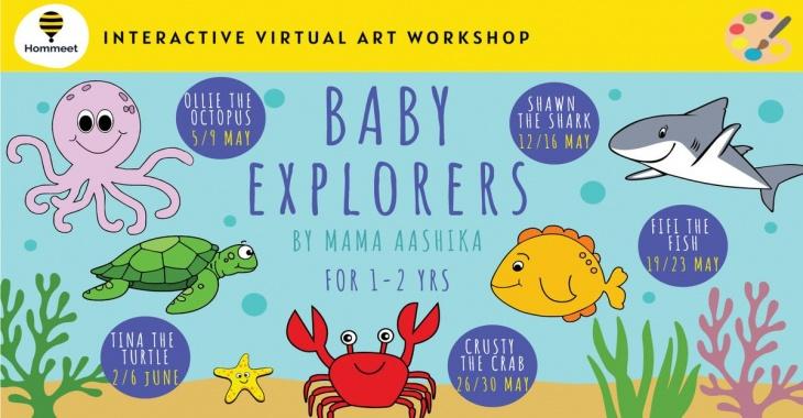 Interactive Virtual Art Workshop - Baby Explorers by Aashika