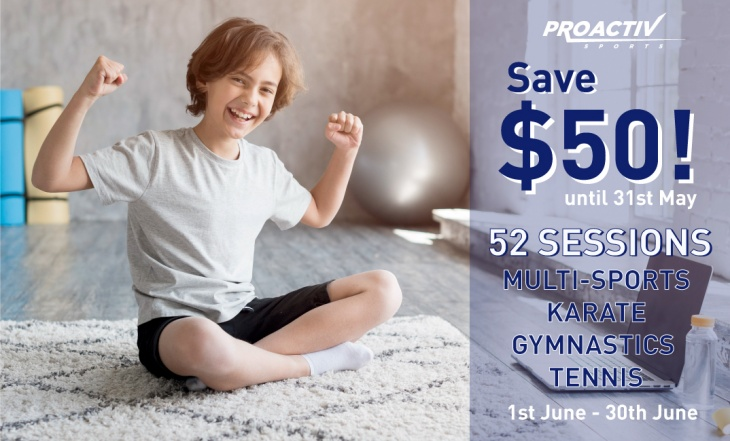 Online Classes with ProActiv Sports Singapore
