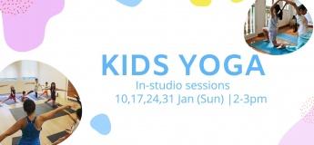 Sunday Kids Yoga Class