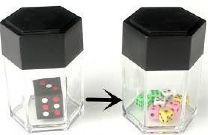 Dice Explosion Magic Tricks