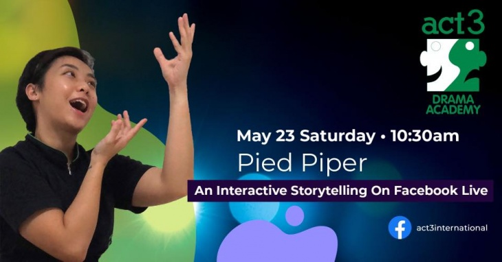 An Interactive Storytelling on Facebook Live: Pied Piper