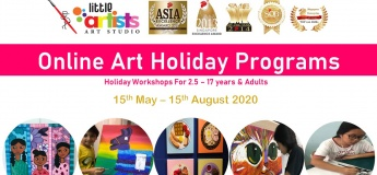 Little Artists Online Art Holiday Programs