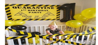 Quarantine Birthday Planner